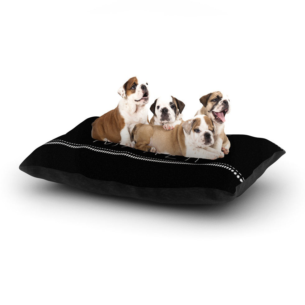 "Skye Zambrana ""Trouble Maker"" Dog Bed - KESS InHouse  - 1"