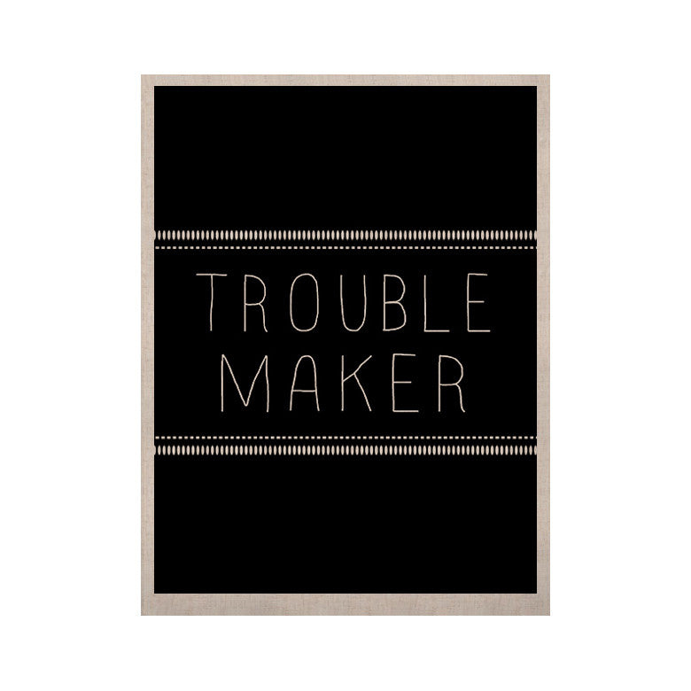 "Skye Zambrana ""Trouble Maker"" KESS Naturals Canvas (Frame not Included) - KESS InHouse  - 1"
