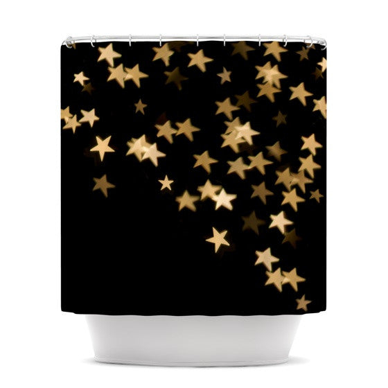 "Skye Zambrana ""Twinkle"" Shower Curtain - KESS InHouse"