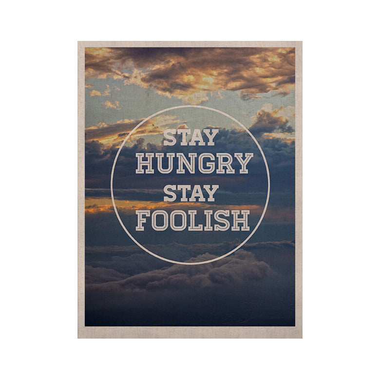 "Skye Zambrana ""Stay Hungry"" KESS Naturals Canvas (Frame not Included) - KESS InHouse  - 1"