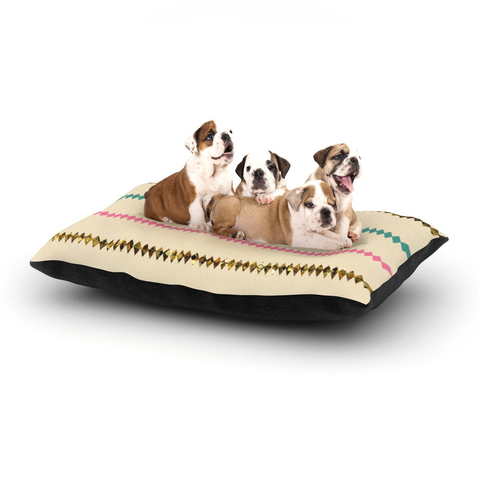 "Skye Zambrana ""Diamonds"" Dog Bed - KESS InHouse  - 1"