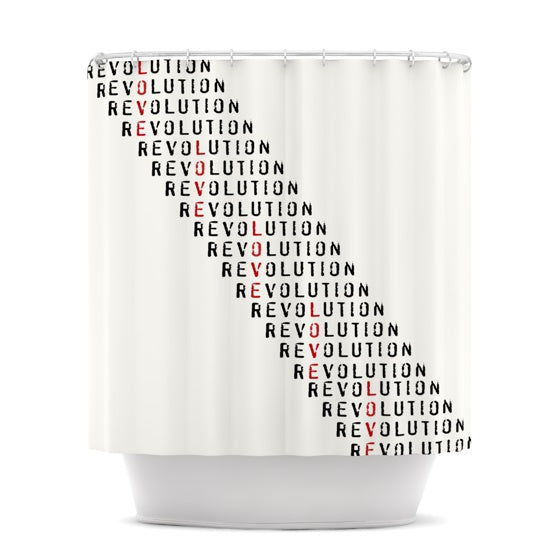 "Skye Zambrana ""Revolution"" Shower Curtain - KESS InHouse"