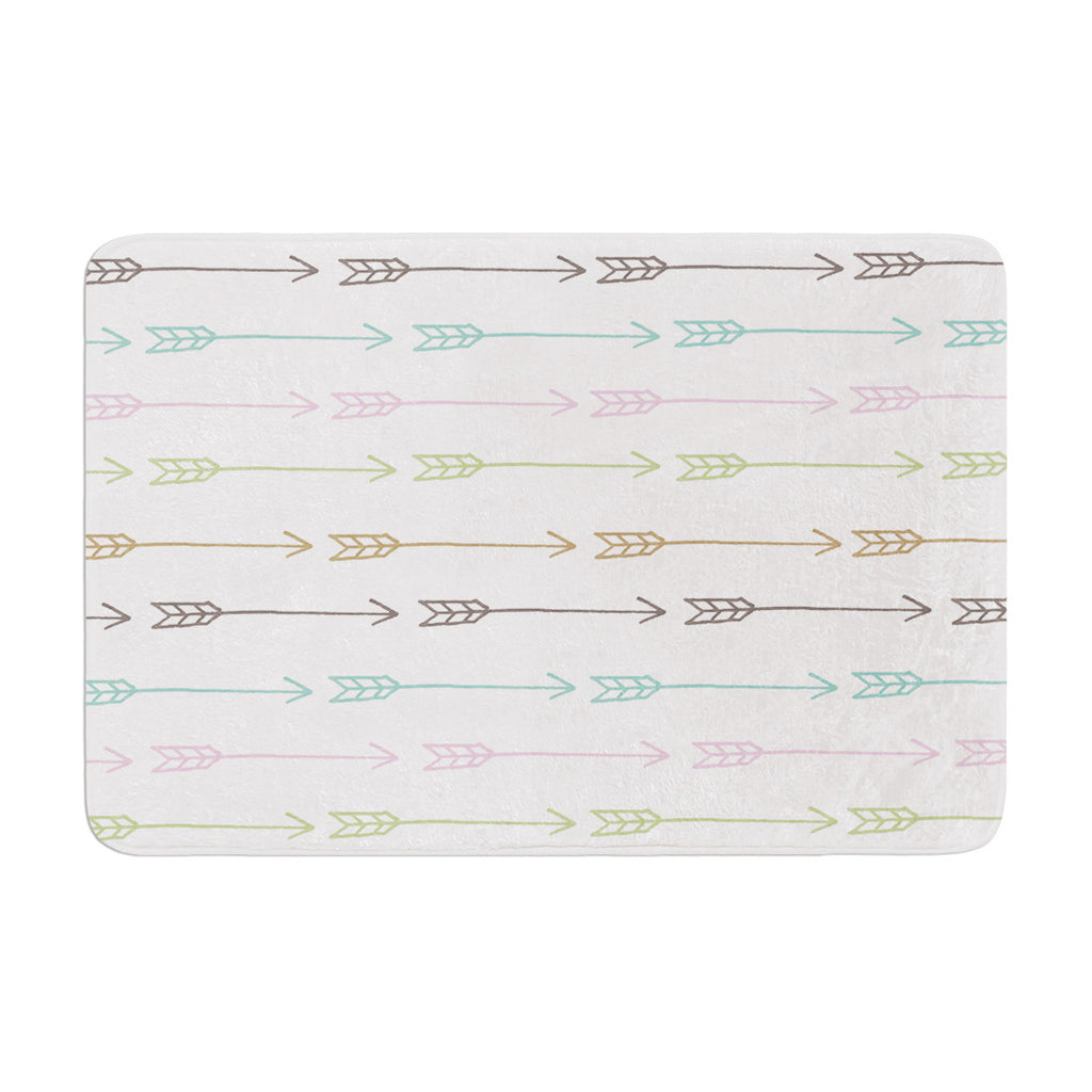 "Skye Zambrana ""William Tell"" Memory Foam Bath Mat - KESS InHouse"
