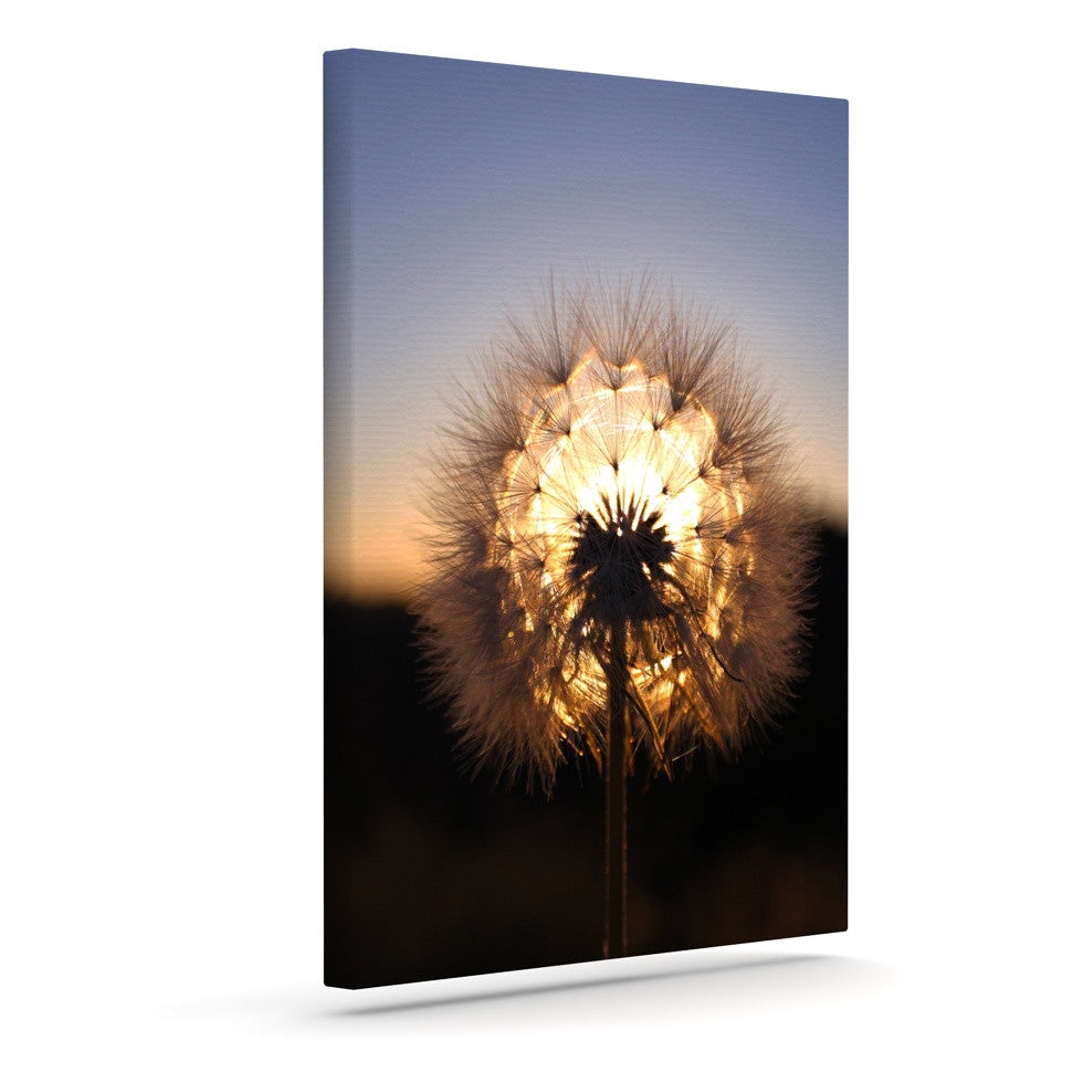 "Skye Zambrana ""Glow"" Outdoor Canvas Wall Art - KESS InHouse  - 1"