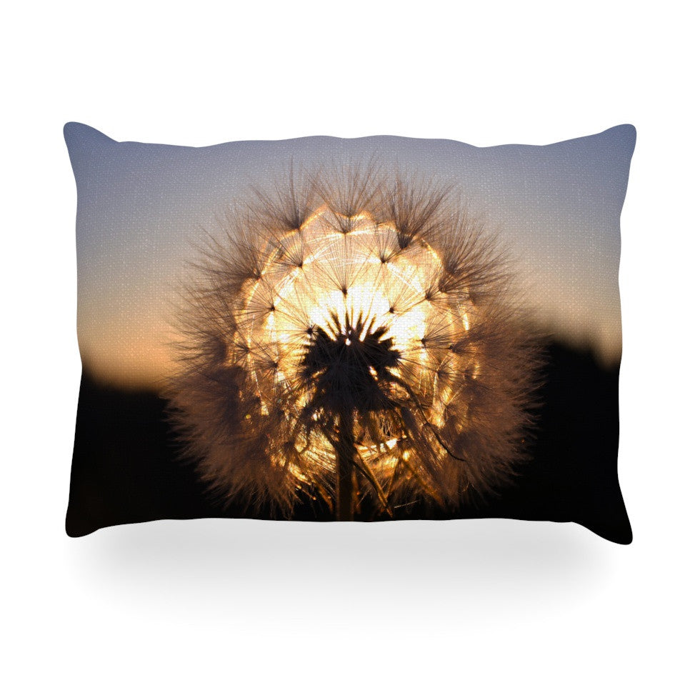 "Skye Zambrana ""Glow"" Oblong Pillow - KESS InHouse"