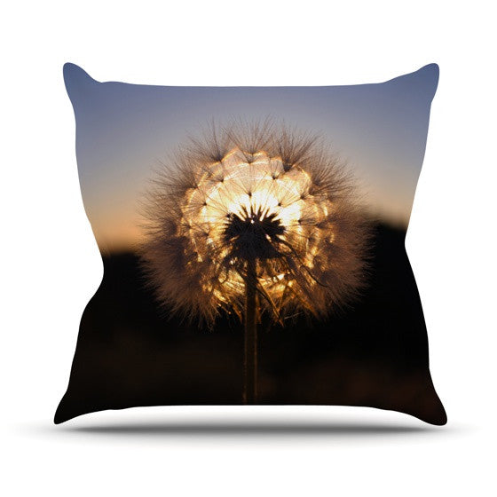 "Skye Zambrana ""Glow"" Outdoor Throw Pillow - KESS InHouse  - 1"