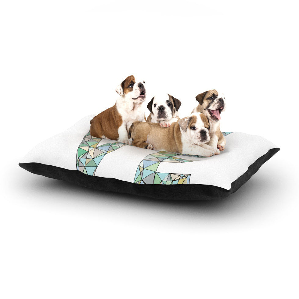 "Skye Zambrana ""Four Letter Word"" Dog Bed - KESS InHouse  - 1"