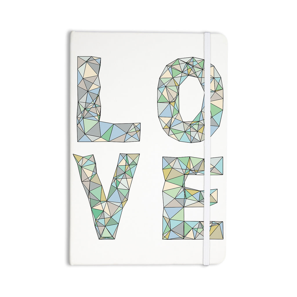 "Skye Zambrana ""Four Letter Word"" Everything Notebook - KESS InHouse  - 1"