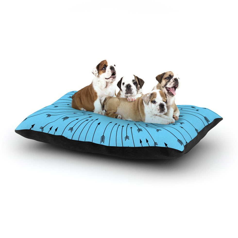 "Skye Zambrana ""Fearless"" Dog Bed - KESS InHouse  - 1"