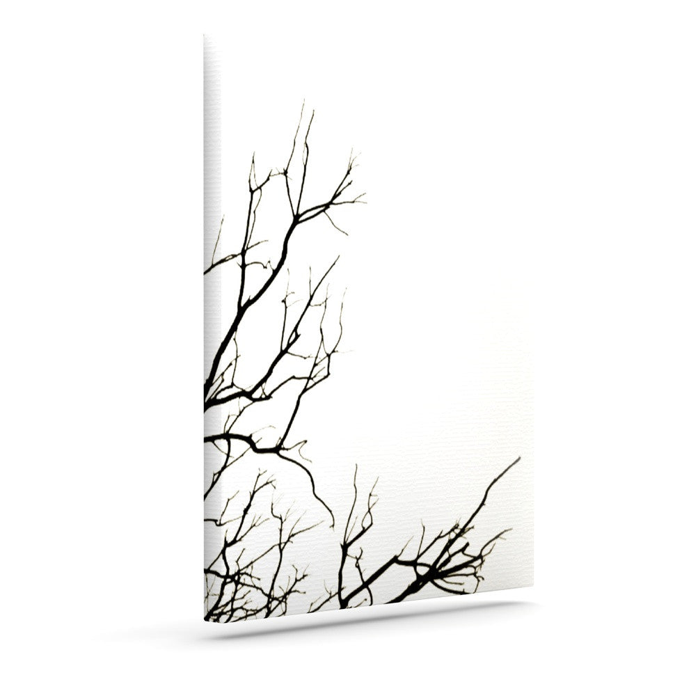 "Skye Zambrana ""Winter"" Outdoor Canvas Wall Art - KESS InHouse  - 1"