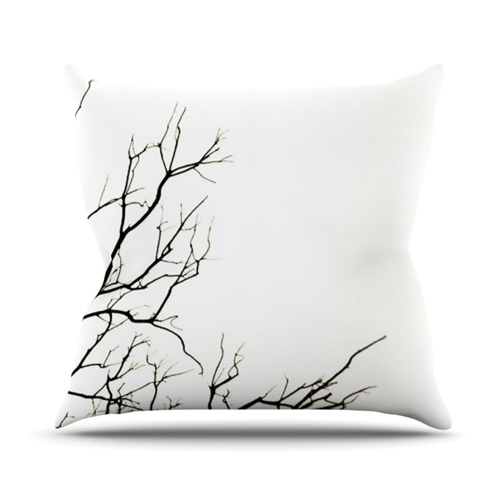 "Skye Zambrana ""Winter"" Throw Pillow - KESS InHouse  - 1"