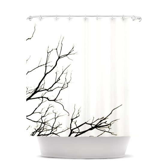 "Skye Zambrana ""Winter"" Shower Curtain - KESS InHouse"