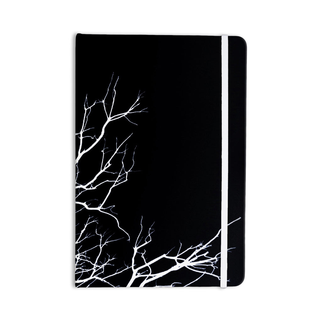 "Skye Zambrana ""Winter Black"" Everything Notebook - KESS InHouse  - 1"