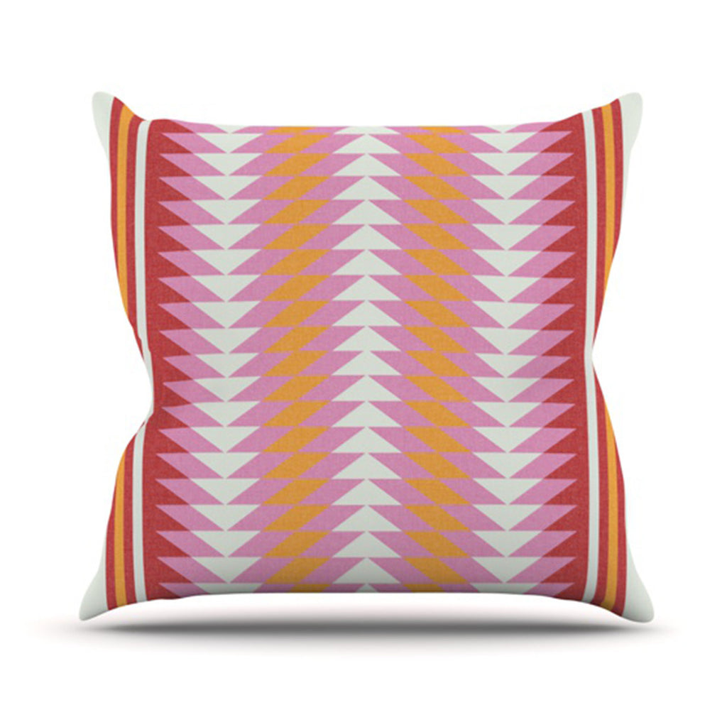 "Skye Zambrana ""Bomb Pop"" Throw Pillow - KESS InHouse  - 1"