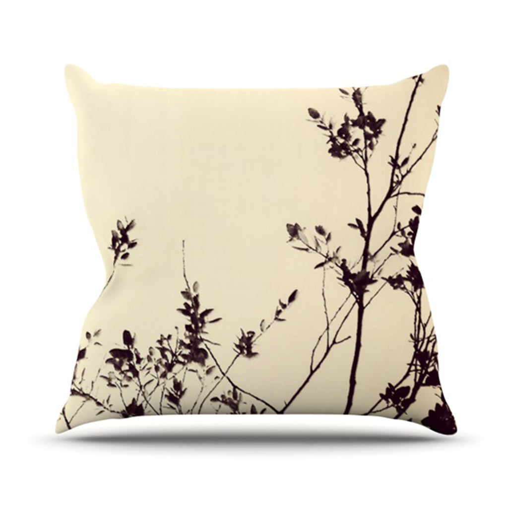 "Skye Zambrana ""Silhouette"" Throw Pillow - KESS InHouse  - 1"