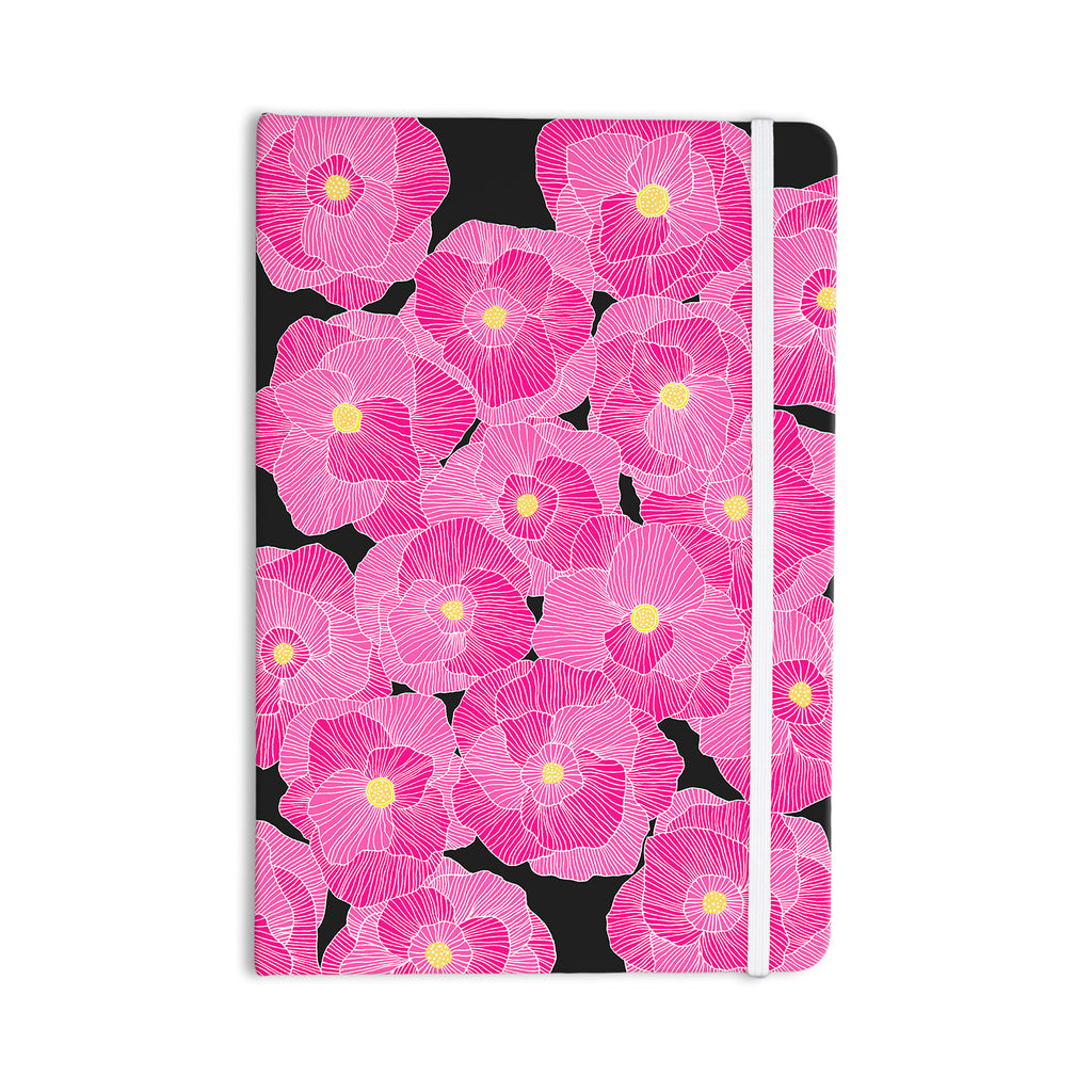 "Skye Zambrana ""In Bloom Pink"" Floral Everything Notebook - KESS InHouse  - 1"