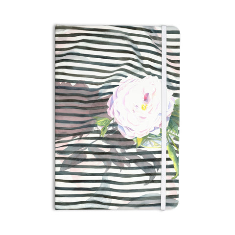 "S. Seema Z ""Peony n White Black"" Everything Notebook - KESS InHouse  - 1"