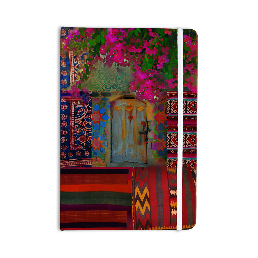 "S. Seema Z ""Ethnic Escape"" Ped Pink Everything Notebook - KESS InHouse  - 1"