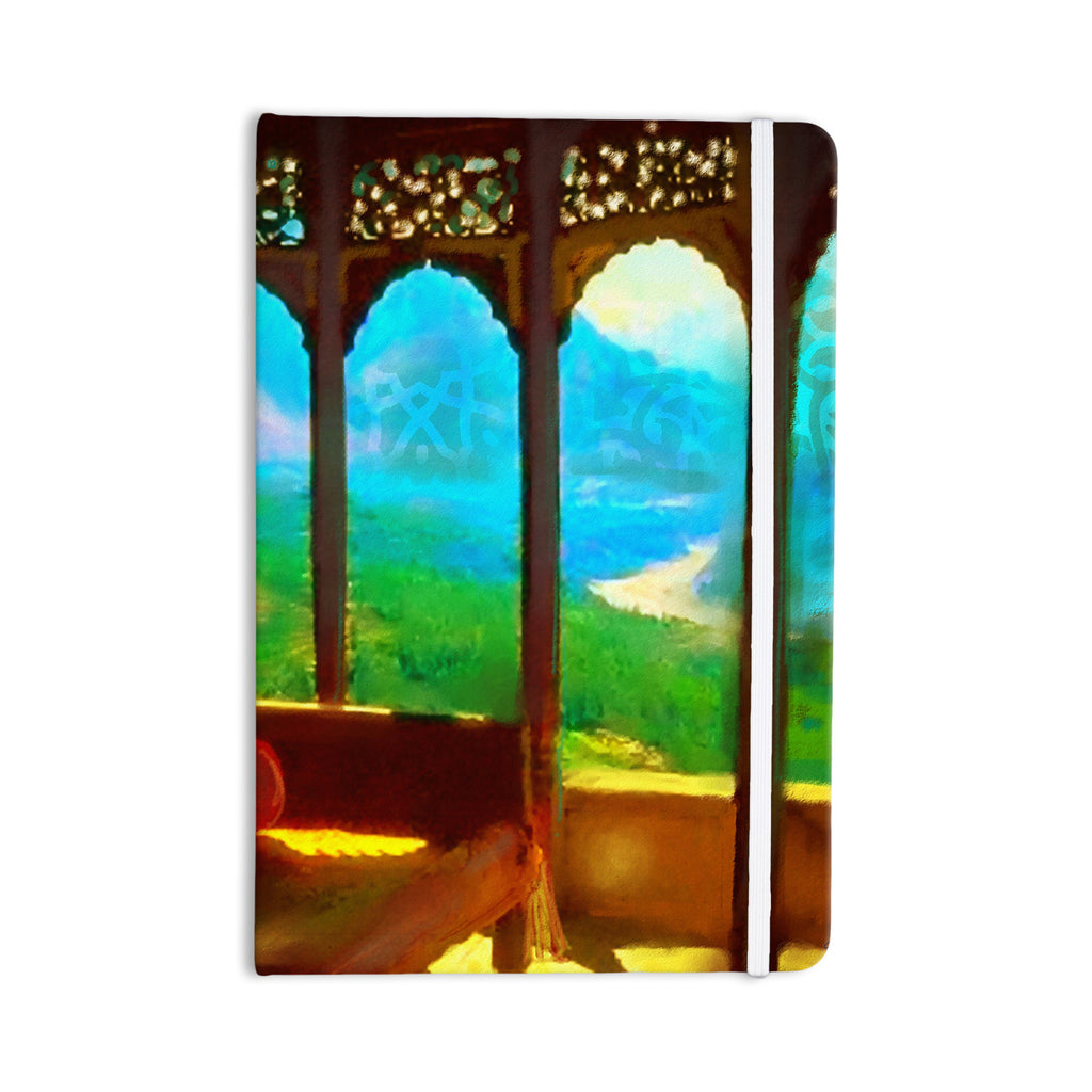 "S. Seema Z ""Mountain Retreat"" Blue Green Everything Notebook - KESS InHouse  - 1"