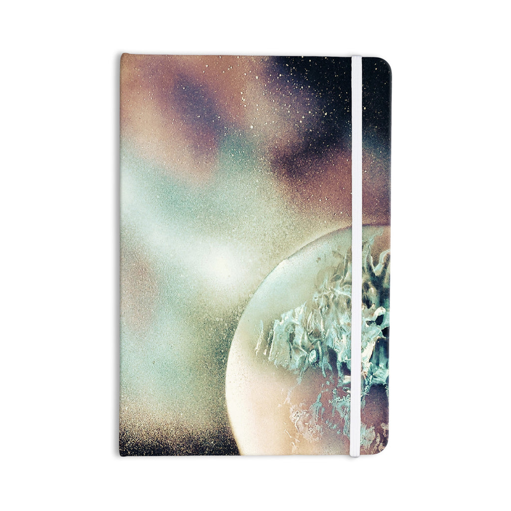 "Infinite Spray Art ""Space Dust"" Space Planet Everything Notebook - KESS InHouse  - 1"