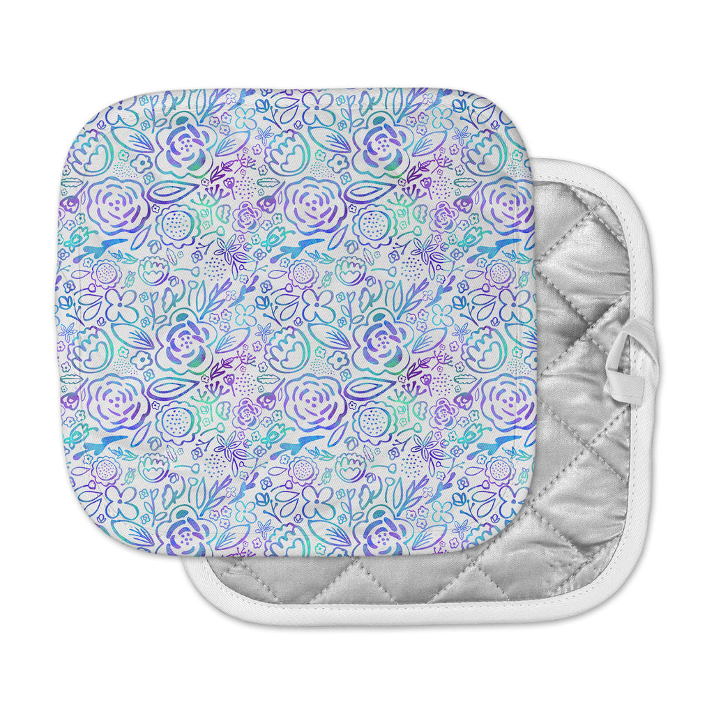 "Noonday Design ""Floral Explosion"" Floral Pattern Pot Holder"