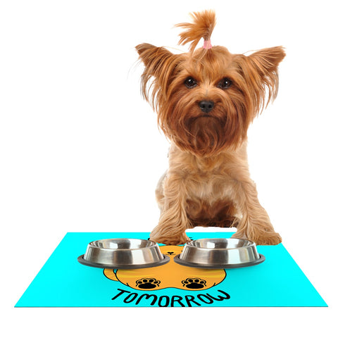 "Tobe Fonseca ""Diet Starts Tomorrow"" Dog Place Mat - Outlet Item"