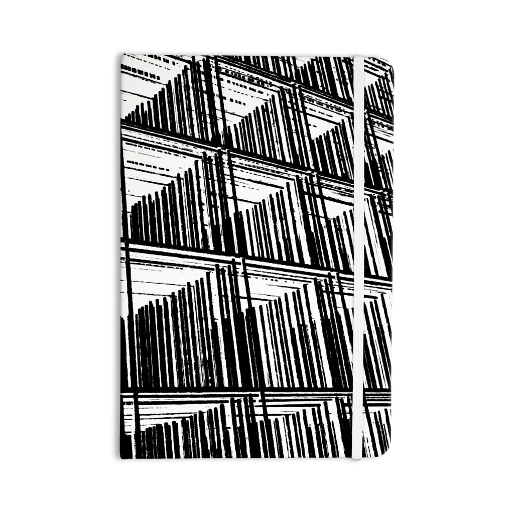 "Trebam ""Celik"" Black Lines Everything Notebook - KESS InHouse  - 1"