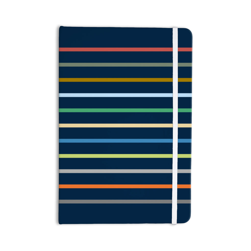 "Trebam ""Tanak"" Navy Blue Everything Notebook - KESS InHouse  - 1"