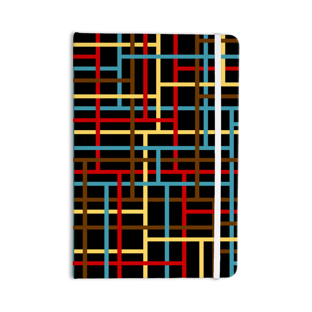 "Trebam ""Veza"" Modern Lines Everything Notebook - KESS InHouse  - 1"