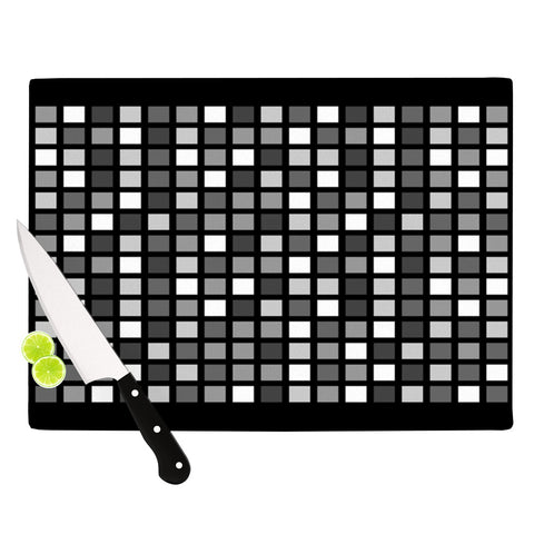 "Trebam ""Plocica"" Gray Grid Cutting Board - Outlet Item"