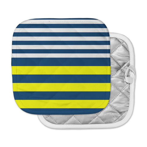 "Trebam ""Nauticki"" Yellow Navy Pot Holder"