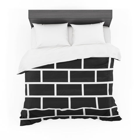 "Trebam ""Opeke"" Black Digital Featherweight Duvet Cover"