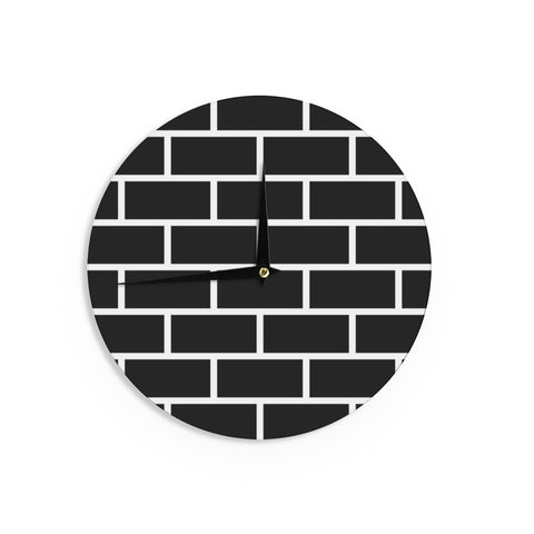 "Trebam ""Opeke"" Black Digital Wall Clock - KESS InHouse"
