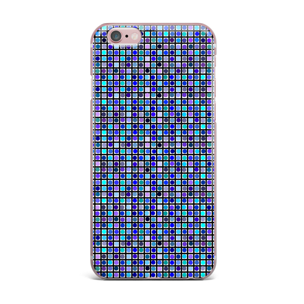 "Trebam ""Mozaik"" Blue Purple iPhone Case - KESS InHouse"