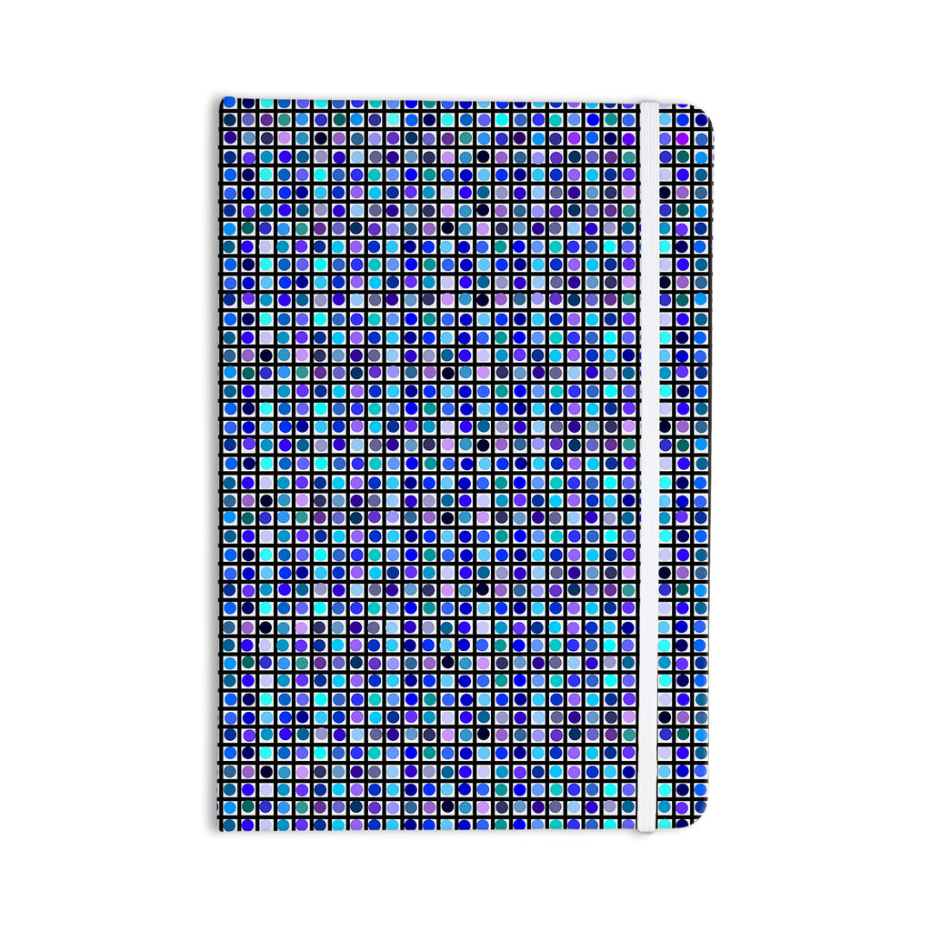 "Trebam ""Mozaik"" Blue Purple Everything Notebook - KESS InHouse  - 1"