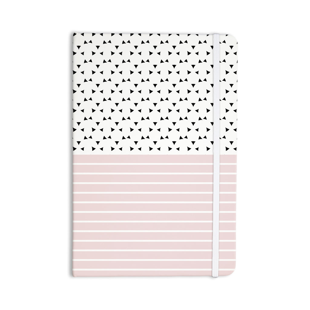 "Trebam ""Razni"" Pink Black Everything Notebook - KESS InHouse  - 1"