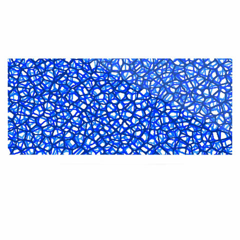 "Trebam ""Staklo (Blue)"" Blue White Digital Luxe Rectangle Panel"