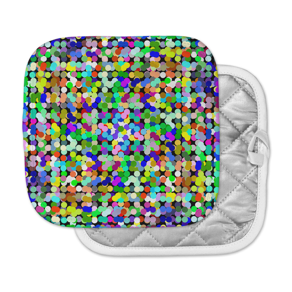 "Trebam ""Zumbati"" Multicolor Digital Pot Holder"