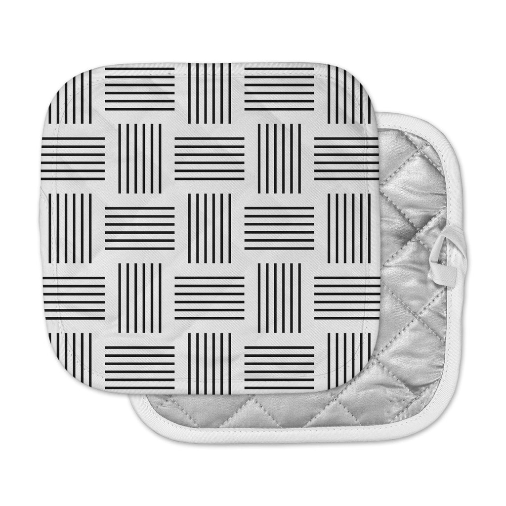 "Trebam ""Postrance"" Black White Digital Pot Holder"