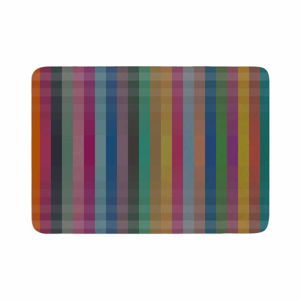 "Trebam ""Kolor V3"" Multicolor Digital Modern Vector Memory Foam Bath Mat"