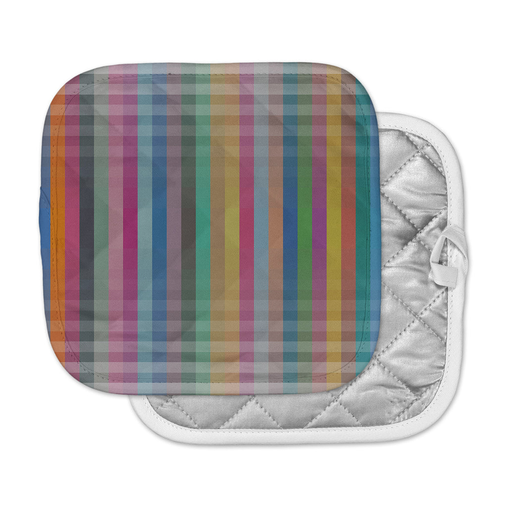 "Trebam ""Kolor V3"" Multicolor Digital Modern Vector Pot Holder"