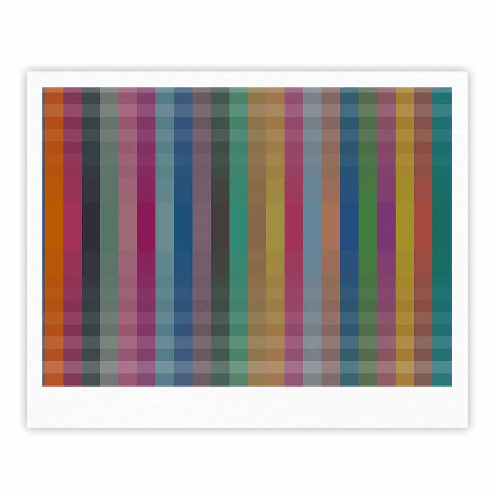 "Trebam ""Kolor V3"" Multicolor Digital Modern Vector Fine Art Gallery Print"