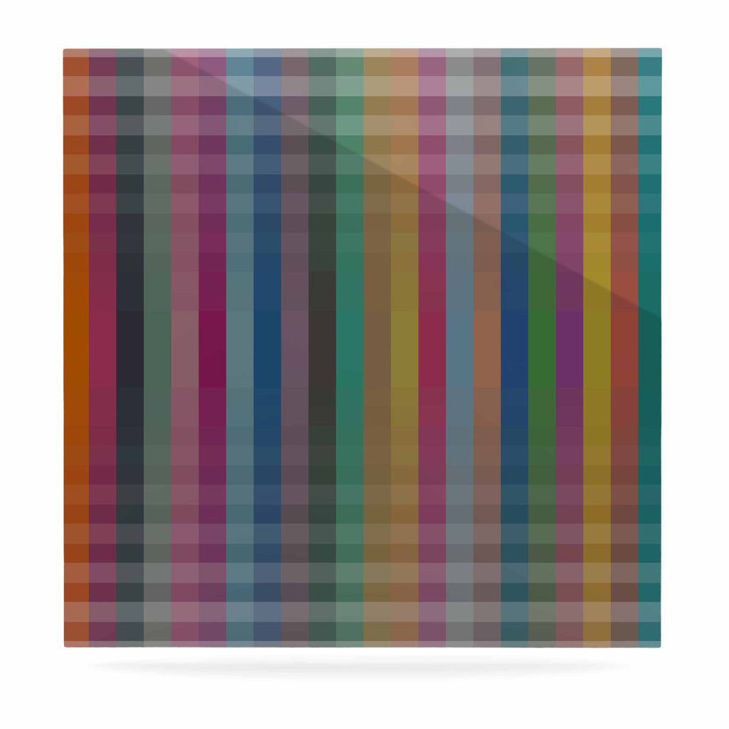 "Trebam ""Kolor V3"" Multicolor Digital Modern Vector Luxe Square Panel"