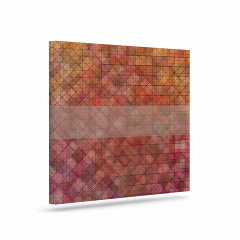 "Trebam ""Pacio"" Red Brown Digital Canvas Art"