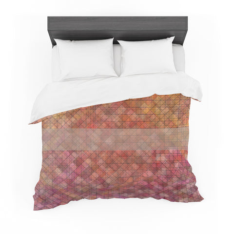 "Trebam ""Pacio"" Red Brown Digital Featherweight Duvet Cover"