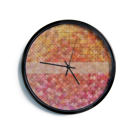 "Trebam ""Pacio"" Red Brown Digital Modern Wall Clock"