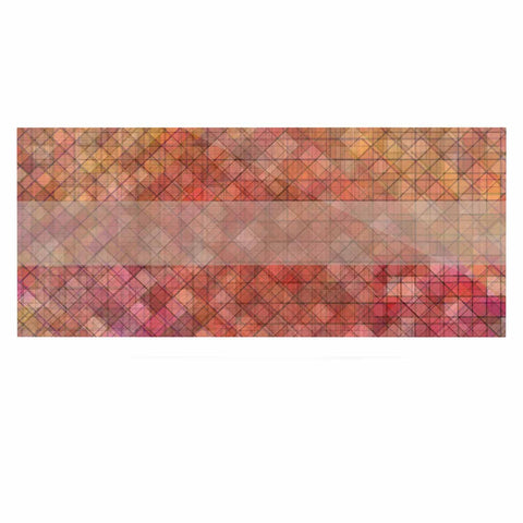 "Trebam ""Pacio"" Red Brown Digital Luxe Rectangle Panel"