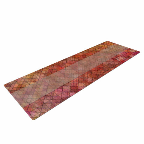 "Trebam ""Pacio"" Red Brown Digital Yoga Mat"