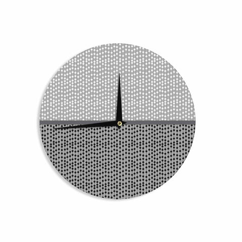 "Trebam ""Okomito"" Gray Black Digital Wall Clock"