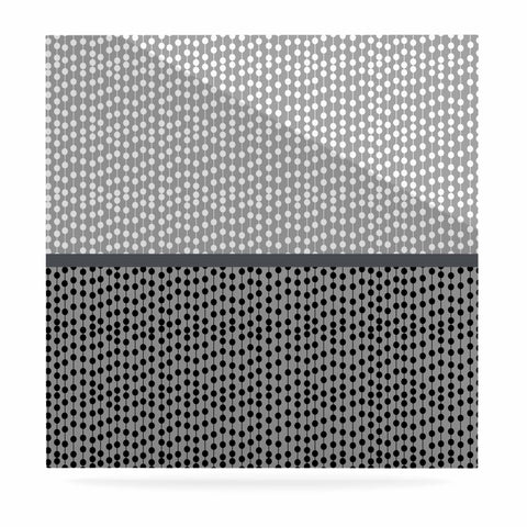 "Trebam ""Okomito"" Gray Black Digital Luxe Square Panel"